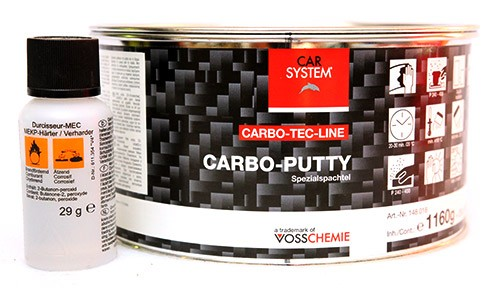 Car System 2K Carbo Putty 580g & kovete