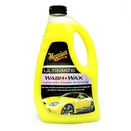 Meguiar's Ultimate Wash and Wax Vahashampoo, 1,4l