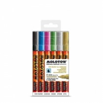 Molotow maalitussisarja 127HS 6kpl metal kit