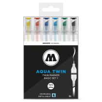 MOLOTOW™ AQUA TWIN Basic 1