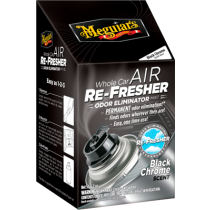 Whole Car Air Re-Fresher - Black Chrome
